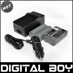 Digital Boy (4pcs/1lot) 2 pcs EN-EL3e ENEL3e LI-ION Camera Battery+Charger+Car Charger Free Plug For Nikon EN-EL3 D70 D90 D100(China (Mainland))