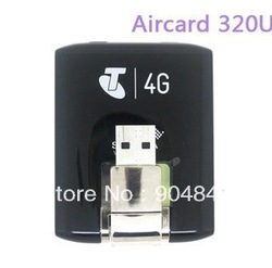 free shipping Aircard 320U Wireless USB 4G LTE Modem Mobile Broadband WCDMA Network Card(China (Mainland))