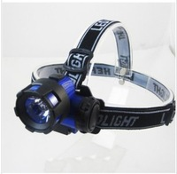 High quality LED light headlights 3W high power outdoor headlamp fishing lights