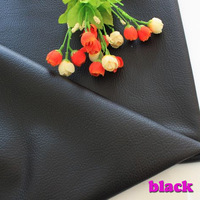 Black PU leather Faux Leather Fabric Sewing   PU artificial leather for diy bag material sold BY THE YARD,  FREE SHIPPING