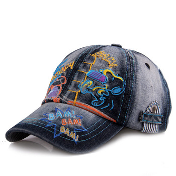 Summer hat child hat denim baseball cap child hat cap baby hat