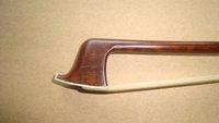 pernambuco bow stick, ebony frog, silver mounted violin bow model of SCFT960