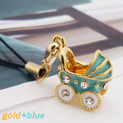 Free shipping-- Fashion accessories baby car stereo mobile phone chain mobile phone pendant