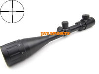 6-24X50AOEG rifle scopes,recoil & fog proof, illuminated crosshair hunting scope+Free shipping(SKU12020077)