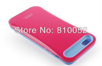 Korea i-glow PC + Silicon Hybrid Glossy Hard Case for iPhone 5