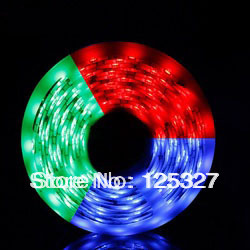 New+Free Shipping 5m Flexible LED Strip 5050 waterproof RGB 30leds/m with double sides of 0.5 PCB+ 1 year warranty.