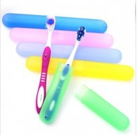 Free Shipping  Toothbrush Holder Box Tube Cover For Traveling Hiking Camping,5pcs/lot,151.