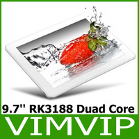 9.7 inch Retina LCD Resolution 2048*1536 Dual Core Rk3188 Quad Core 1.6Ghz  2GB/16GB Tablet PC Free Shipping