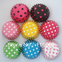 2013 promotion 400pcs  mini 30*20mm polka dot  muffin case cupcake liner baking cup  candy cup chocolate cup decoration tool
