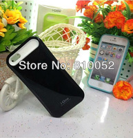 For iPhone 5 Luminous Case Silicon Plastic PC Case Cover,nightglow mobile phone shakeproof case