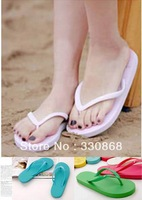 Summer lovers beach flip flops shoes all-match flip slippers flat slippers lady sandals