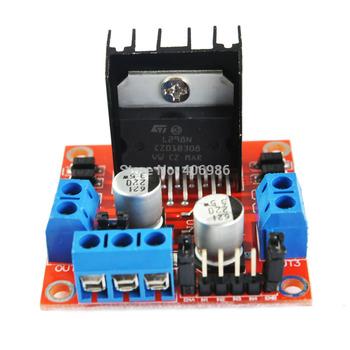 L298N Module Dual H Bridge Stepper Motor Driver Board Modules for Arduino  Smart Car FZ0407 Free Shipping   Dropshipping