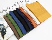 2013 women's cutout seamless 100% cotton spaghetti strap basic vest loose top
