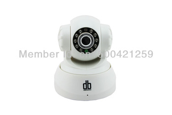 DBPOWER  Wire IP Camera Security CCTV Built-in Mic Night Vision Motion 1/4 CMOS Monitor F1033B
