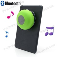 Mini Portable Waterproof Bluetooth Speaker with Suction Cup + Controls & Microphone free shipping
