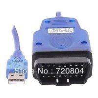 2013 High quality HK post free shipping obd2motor Vagcom 409.1 VAG-COM 409.1 interface VAG COM 409.1 cable
