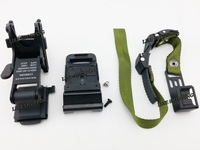Matrix NVG Mount Base Kit for Airsoft Helmets black/tan