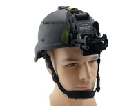 Tactical helmet With NVG arms mount set black