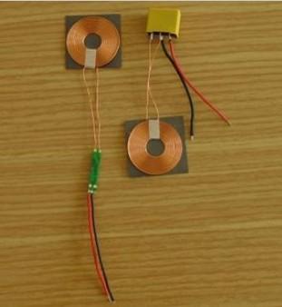 2 stück viel phone wireless lademodul( Durchmesser 30 mm) spule Größe: 30mm* 0.6mm+free versand