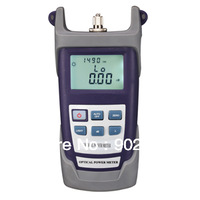 Free shipping RY-PM300A Portable Optical Power Meter With FC SC ST Connector .-70~+10  dBm Fiber Meter