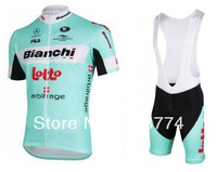 2013 New Arrival Good Quality Best Selling Bianchi Bike Jersey+Bib Short Set/Bicycle Short/Bike clothes/Cycle Wear/Mix Color