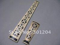 Best white mosaic violin fingerboard plus tailpiece