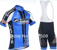 2013 new!!! GIANT cycling jersey and bib shorts / short sleeve jerseys pants bike bicycle wear set COOL MAX