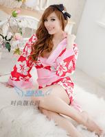 Hot-selling ! style sexy temptation kimono sleepwear female sexy bathrobe robe bathrobe  womens dresses