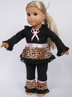 "DOLL CLOTHES fits 18"" USA Girl Doll Outdoor outfit/clothing set/costume/wear (top+pants) Child/Kid/baby gift Many styles"