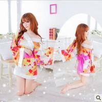 Women's costume sexy kimono cos bathrobes sleepwear bathrobe photo service  womens dresses
