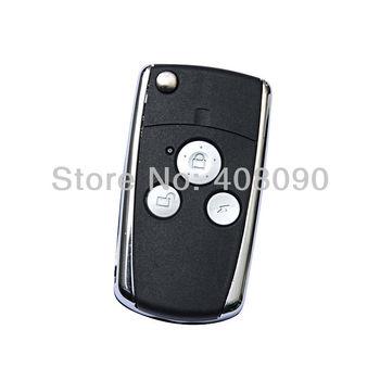 Blank Folding Remote Key Shell Case For Honda Accord Pilot CR-V Civic 3BT  DKT0103