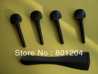 1 Set of Cello Fittings(Cello Peg, tailpiece) 4/4