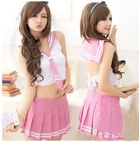 School wear sailor suit student school uniform costume lounge set  wholesale clothing