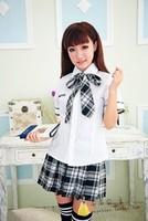 School uniform student clothing school uniform girls school uniform class service set school wear  wholesale clothing