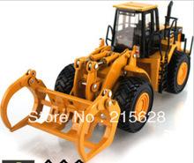 Grátis frete alta qualidade fundido mini liga em grande escala de registro de madeira de construção de engenharia caminhão modelo do veículo crianças brinquedo de presente(China (Mainland))