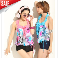 2013 women's bikinis25 bikini one piece swimsuit big small steel push up swimwear