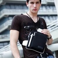 Free shipping Male casual shoulder bag sports mini chest pack men's fashion  man bag