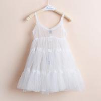 2014 Sale Girl Dress Vestido Infantil Children's Clothing Female Child Summer Translucent Gauze Suspender Princess Dress - F92