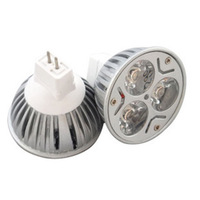 3W MR16 3 LEDs AC 12V Spotlight LED Lamp Bulb(Warm White 2700-3500K)