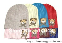 10pcs Baby's Beanies  hat Infant bear hat Baby cap Infant cap Toddler hat Cute cap headwear