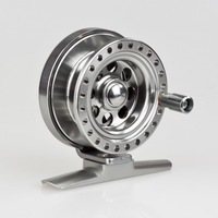 Free shipping metal fly fishing reel dia 5cm 50g LINE CAPACITY about 4#/70m aluminum alloy material fishing reel fish tackle