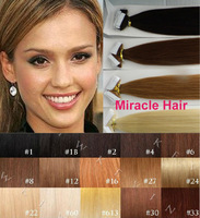 Bulk Stock: 18'' 20'' 22'' 24'' Black Brown Blonde 2.5g/pc 40pcs/lot Glue skin Weft/Tape Indian Remy human Hair Extensions