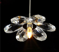 wholesale moder pendant crystal lamp flower crystal lighting sui very beauty design free shipping