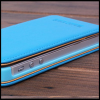 promotion Luxury Genuine leather case for iphone 5 in flip cover and card slot under $10/pcs for wholesaler retail free shipping