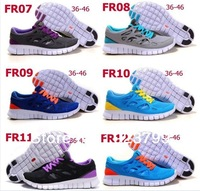 Free Shipping 2013 popular Free Run+ 2 women running shoes,lady sports sneakers breathable and comfortable, drop shipping