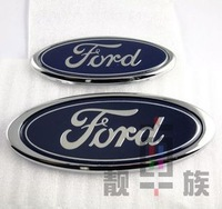 New 2PC Ford emblem   Front Ford emblem and Rear Car Badge For Ford,  Ford Car Emblem Badges