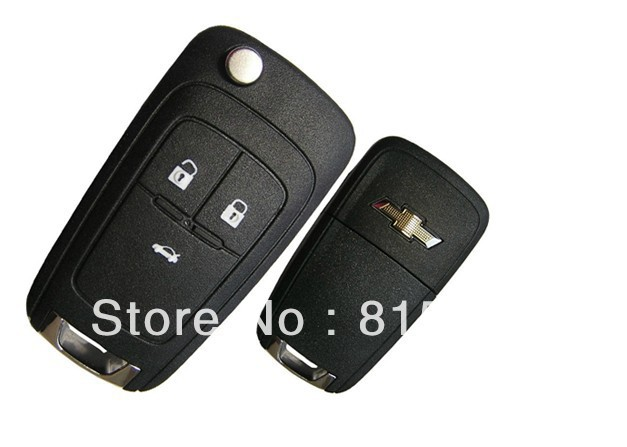 5pcs/lot Wholesale 3 Buttons Chevrolet Car Remote Control Key (46 Chip) 315MHz Specialized for Chevrolet Cruze+Free Shipping(China (Mainland))
