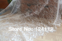 3.3 yards/piece 15.7'' Wide Free Shipping Fashion New Handmade DIY Embroidery Eyelash Lace Fabric