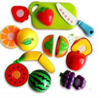 free shipping,Kitchen orange fruit vegetable chopper watermelon cut toy,  role played house home pretent toys