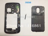 Hot Sell Galaxy Nexus i9250 Housing Cover Case Back Frame+Battery Door Cover Original Black